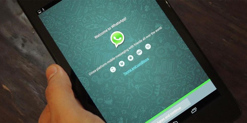Whatsapp на планшете