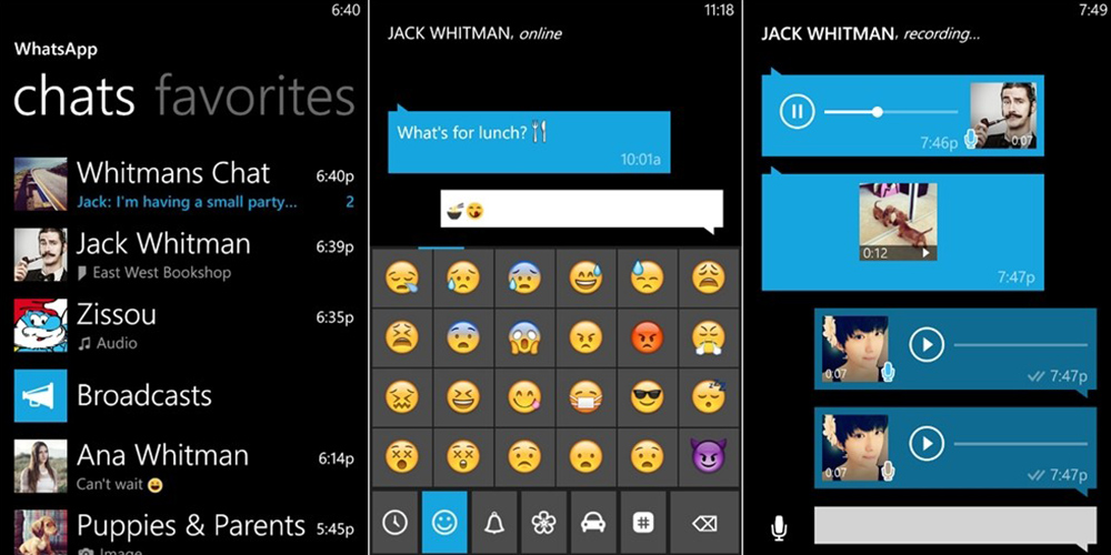 Whatsapp версия для Microsoft