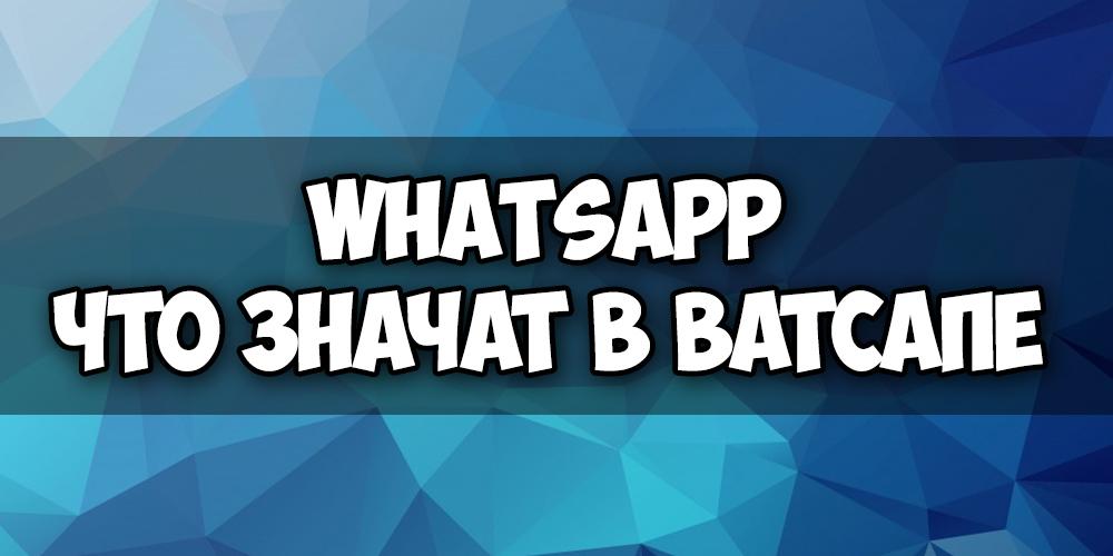 Две галочки в Whatsapp