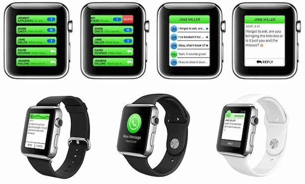 Вотсапп на Apple Watch