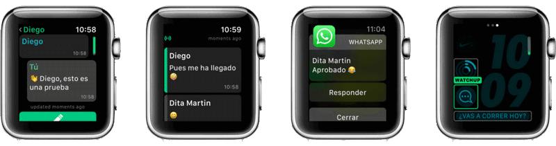 Whatsapp на Apple Watch