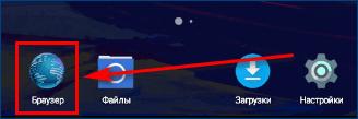 Иконка браузера на телефоне